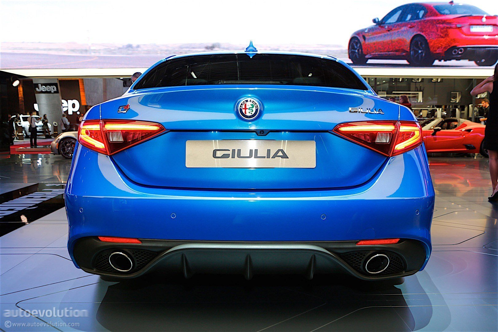 Latest Alfa Romeo Giulia Veloce Bows In Paris In Stunning Blue Free Download