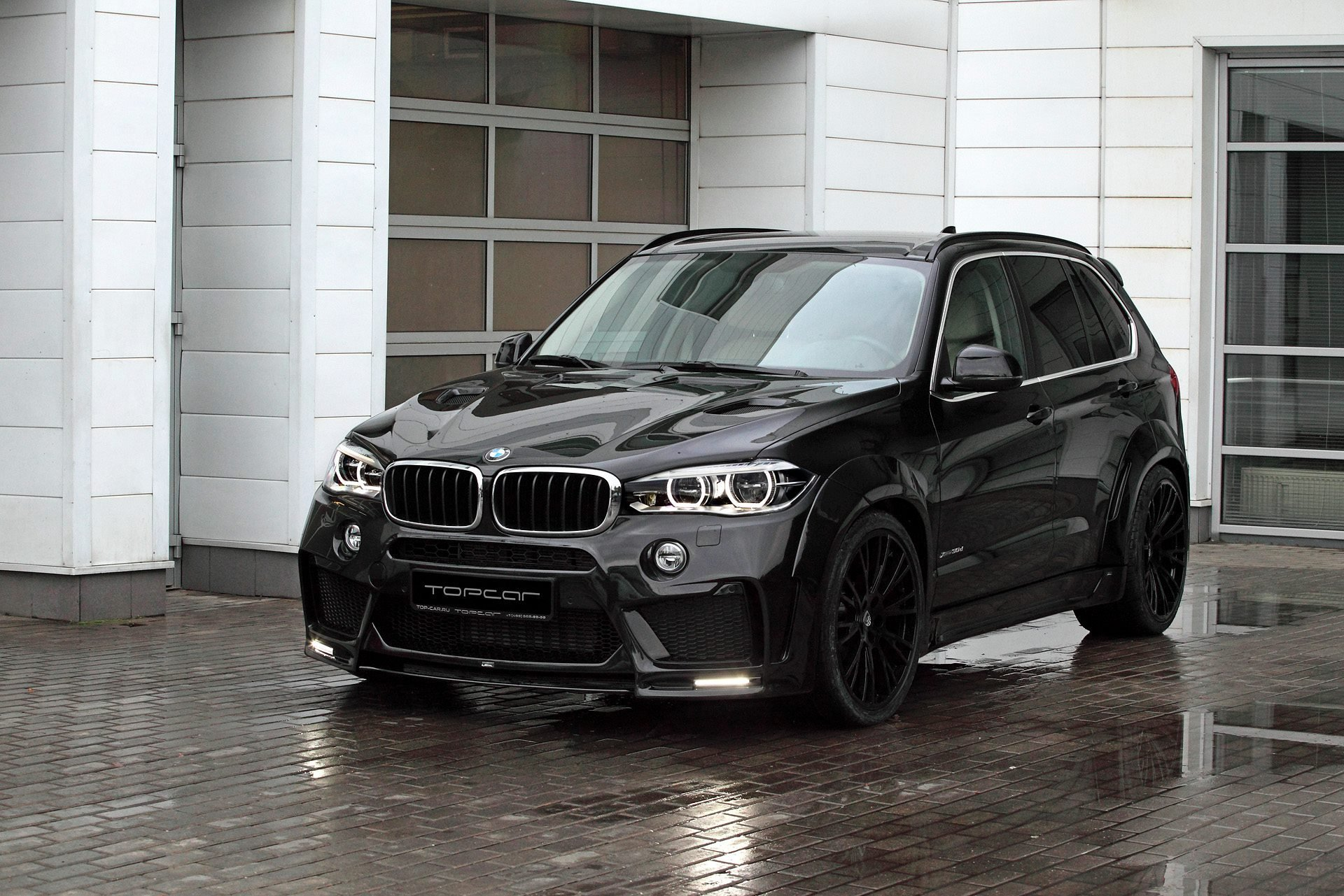 Latest Bmw X5 With Lumma Clr Rs Looks Sinister In Black Free Download