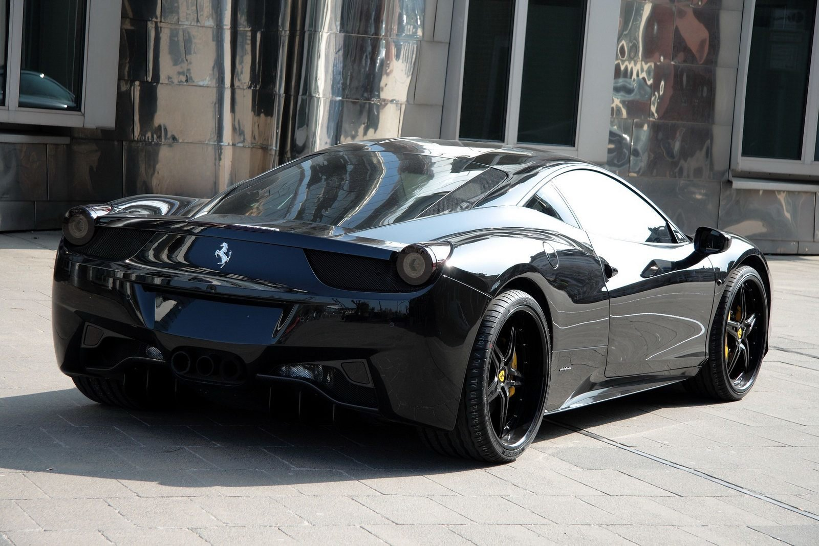 Latest Ferrari 458 Black Carbon Edition Is Darth Vader S Supercar Free Download