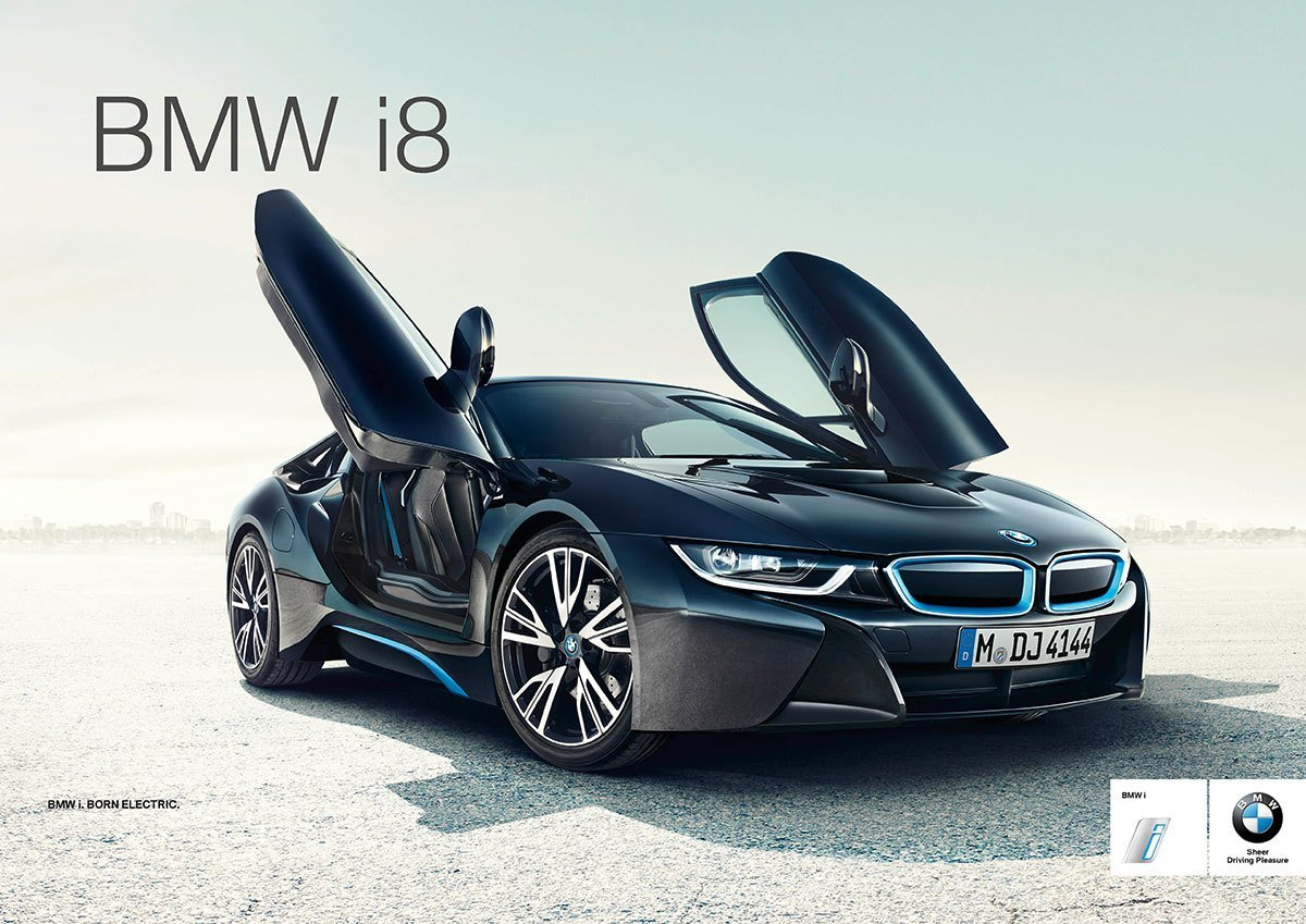 Latest Bmw I8 Electric Sports Car And Custom Set Of Louis Vuitton Free Download