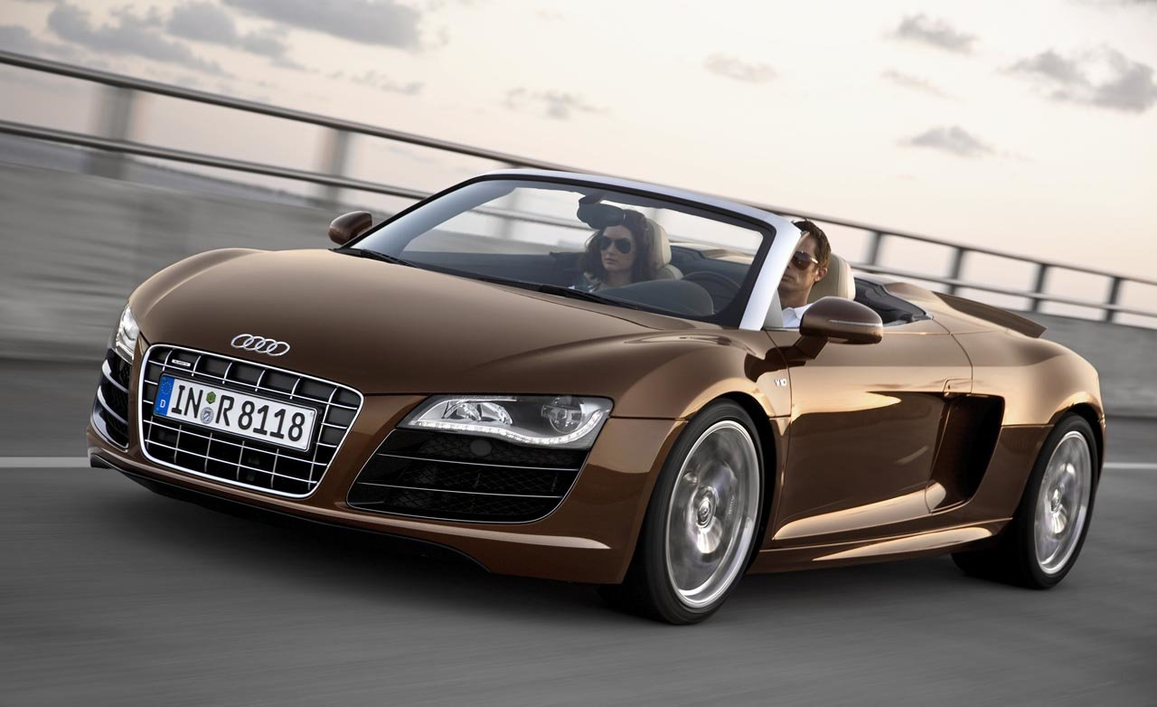 Latest Audi R8 Cars Audi R8 Spyder Free Download