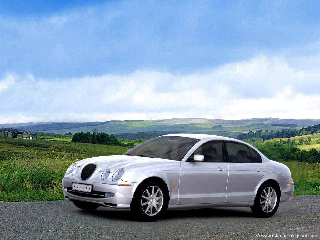 Latest Real Existing Cars 3D Jaguar S Type Free Download