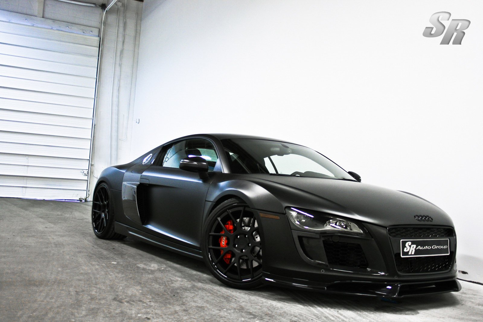 Latest Audi R8 Wallpaper Black Modified Cars Free Download