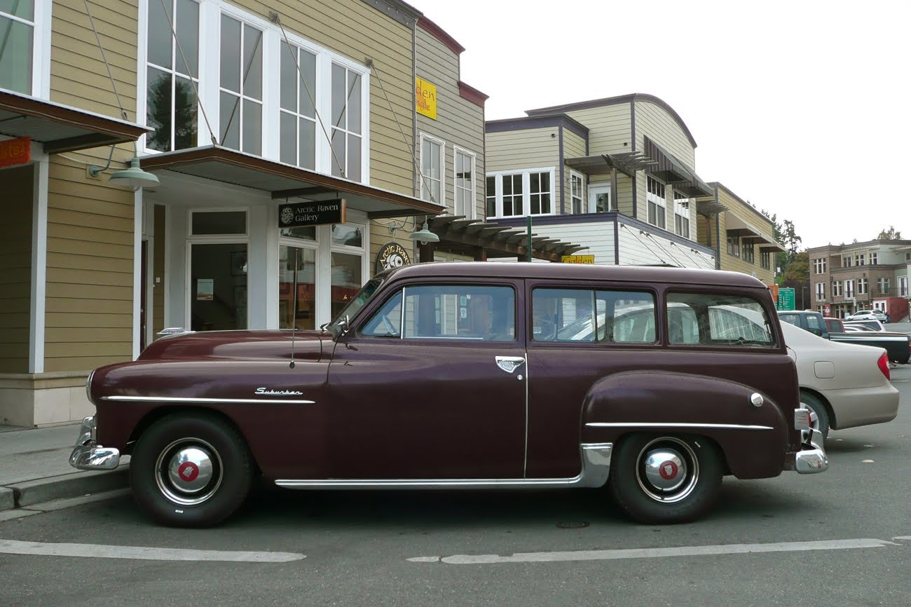 Latest Old Parked Cars 1952 Plymouth Suburban Free Download