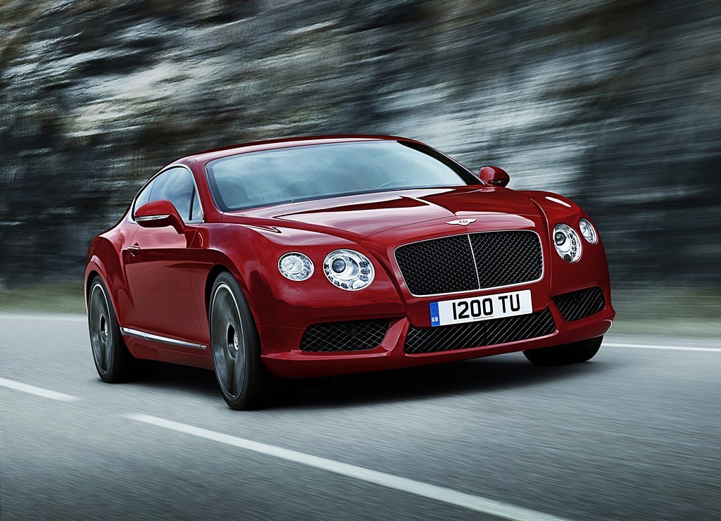 Latest 2013 Bentley Continental Gt V8 Auto Cars Concept Free Download