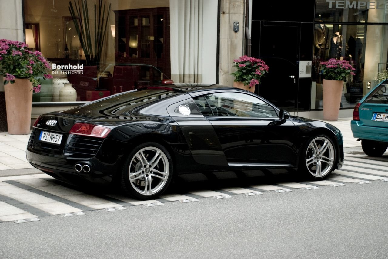 Latest Audi R8 Cars Audi R8 Black Free Download