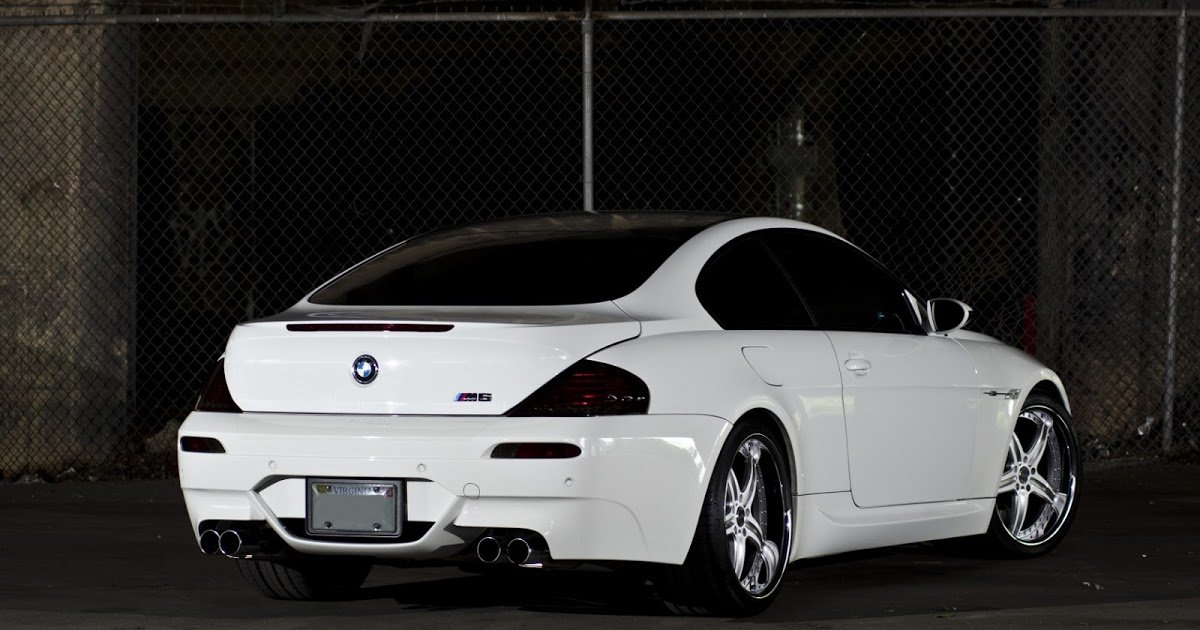 Latest Hd Car Wallpapers Bmw Supercar Wallpaper Back Side Free Download
