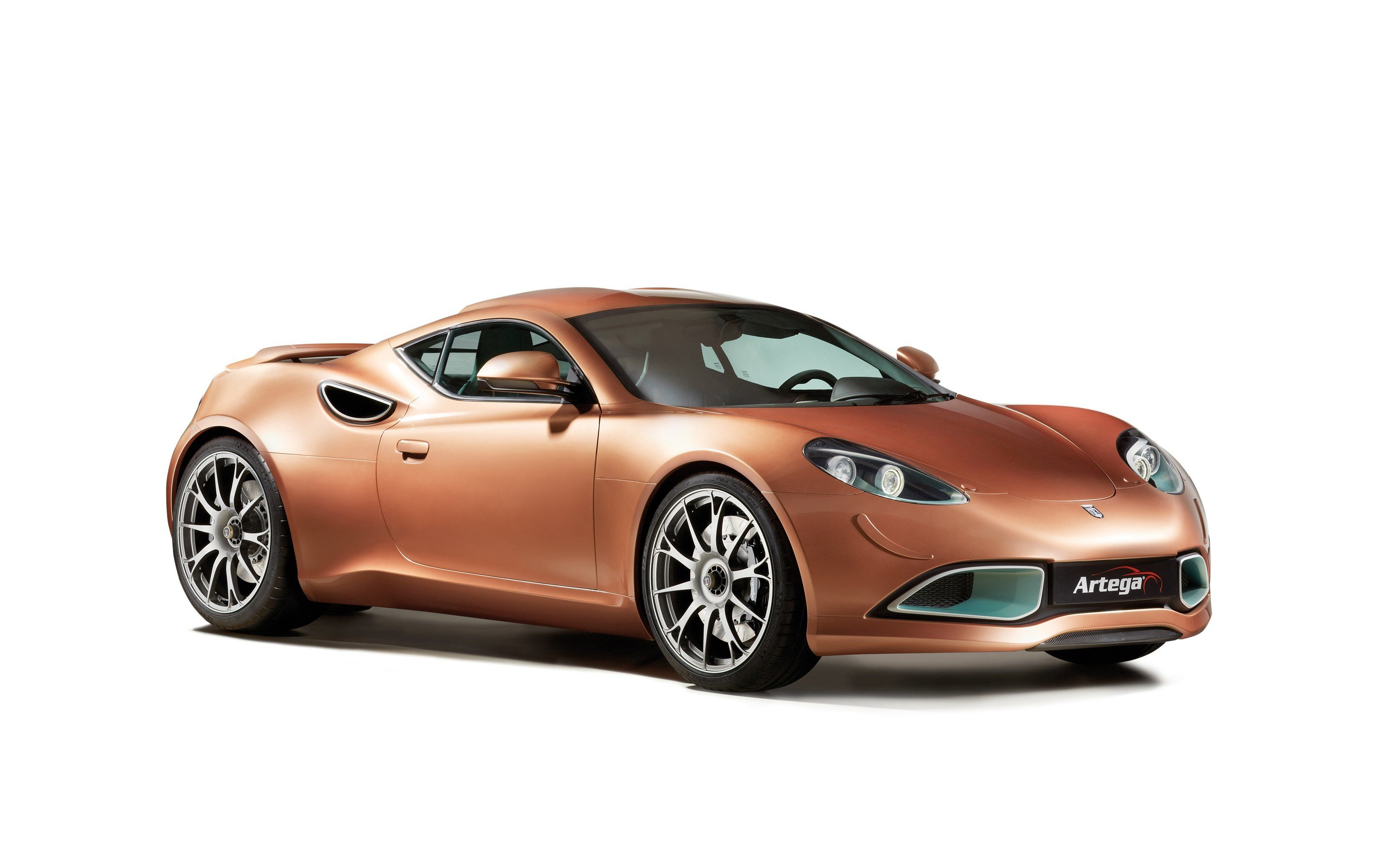 Latest Photos 2015 Scalo Artega Brown Automobile White Background Free Download