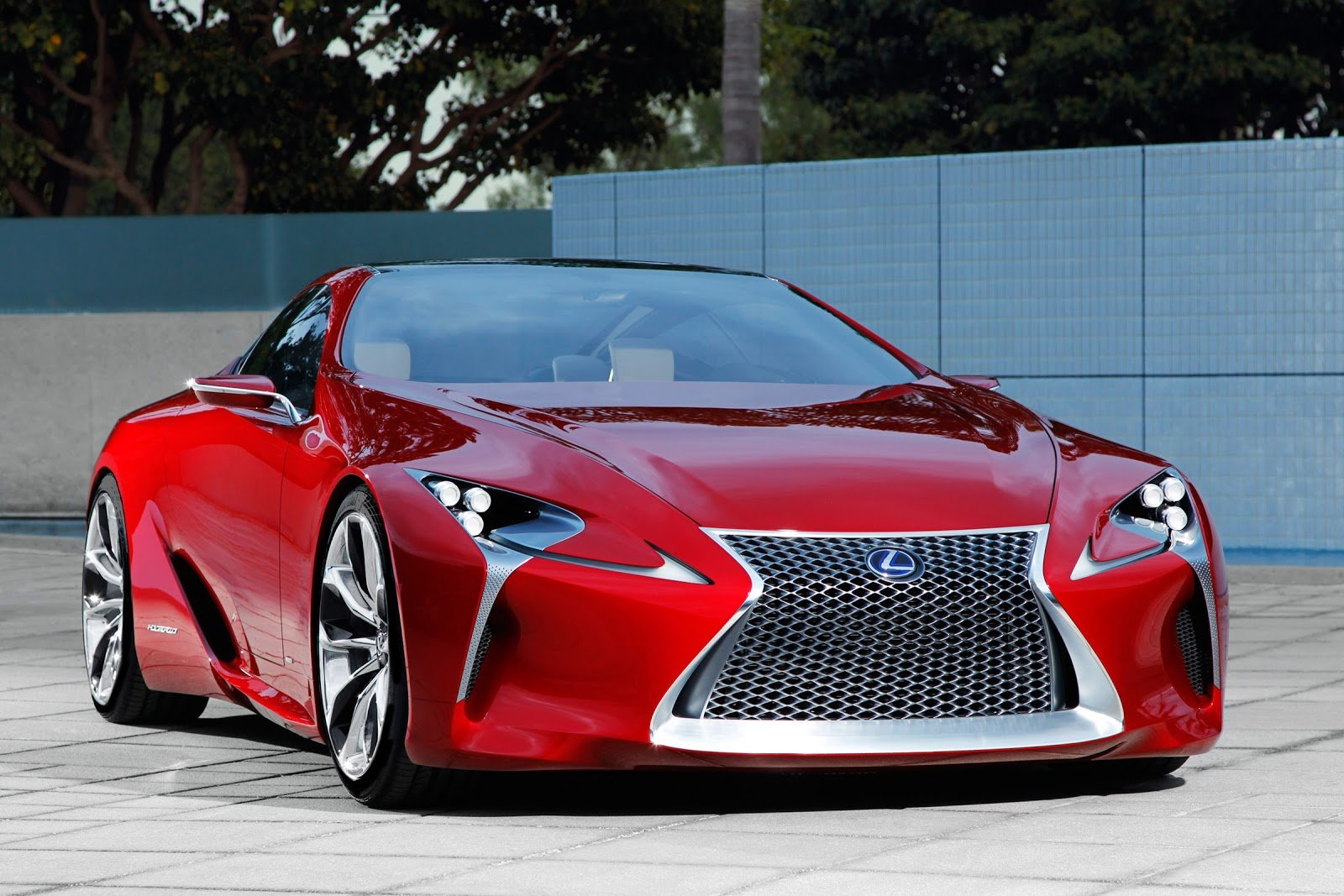 Latest Cars Gto 2012 Lexus Lf Lc Sport Coupe Concept Free Download