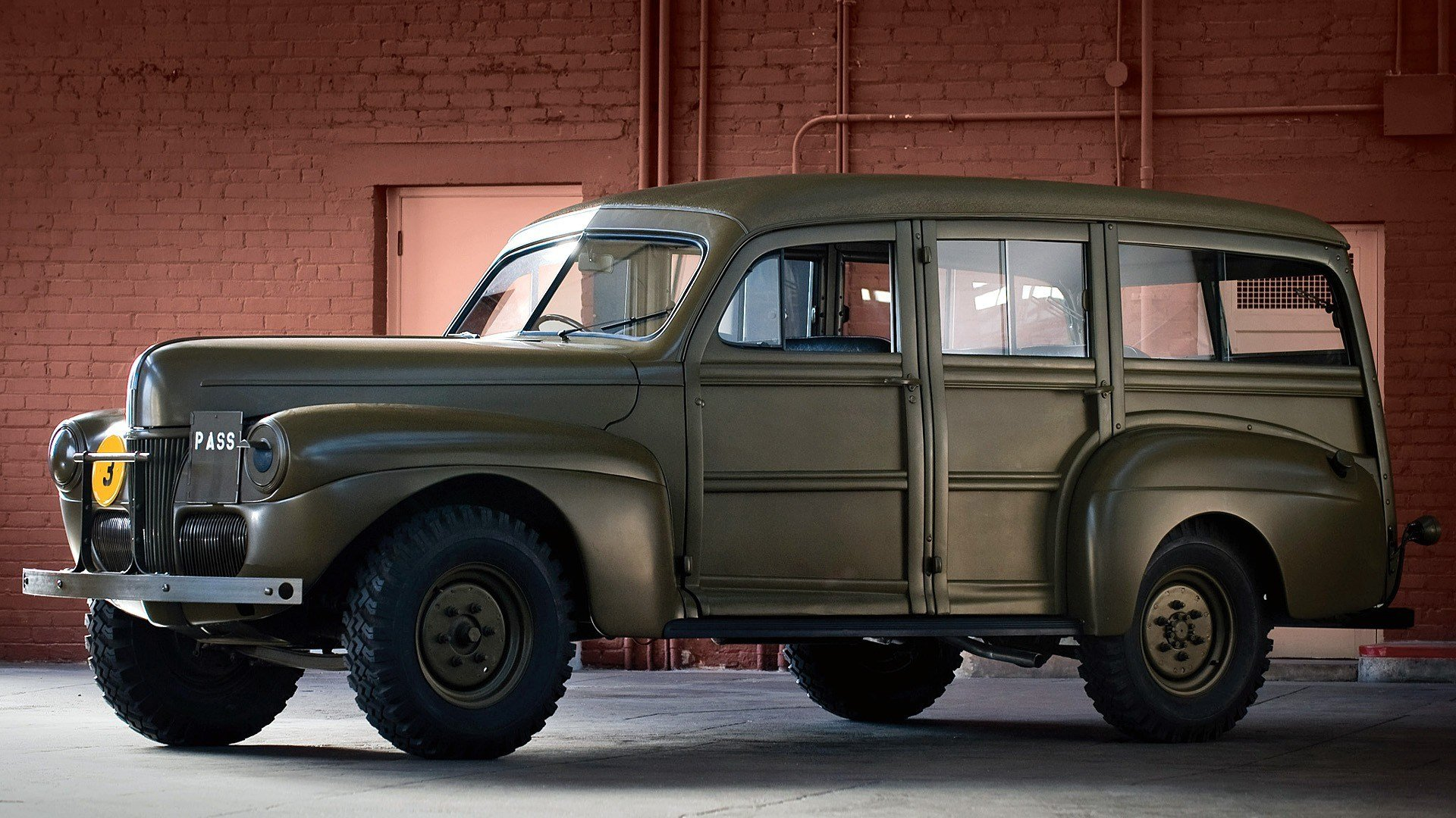 Latest Military Vintage Cars Ford Classic Cars Wallpapers Free Download