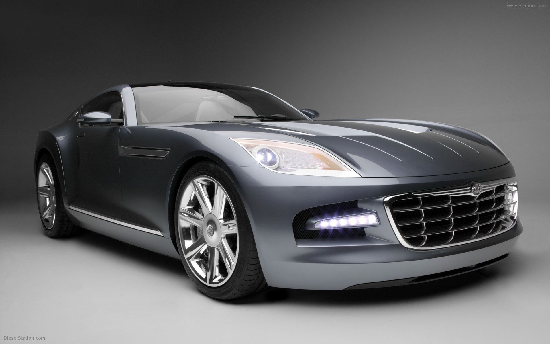 Latest Chrysler Firepower Concept Widescreen Exotic Car Image Free Download