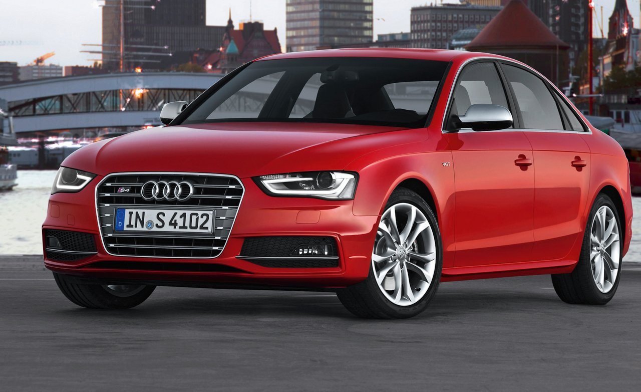 Latest Most Wanted Cars Audi A4 2013 Free Download