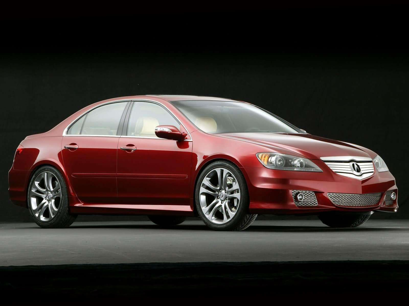 Latest 2005 Acura Rl Aspec Concept Japanese Car Wallpapers Free Download