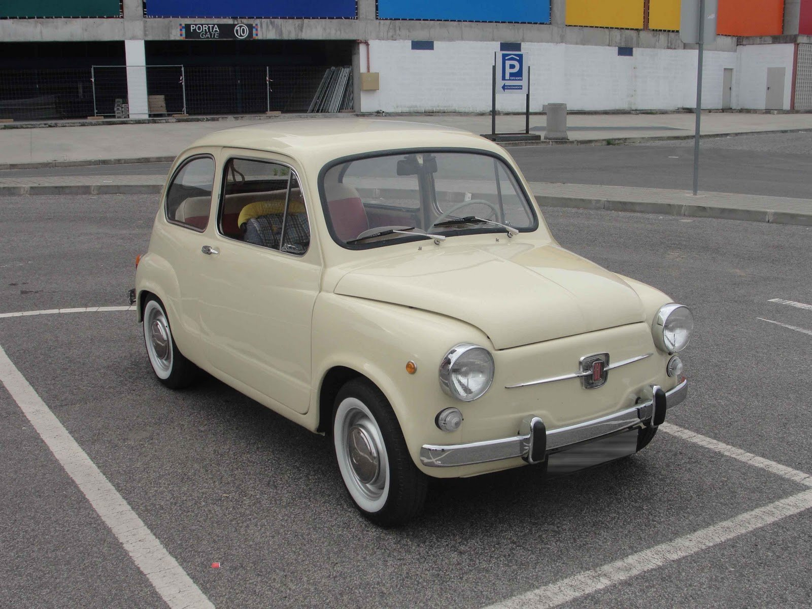 Latest Old School Cars Fiat 600 Free Download