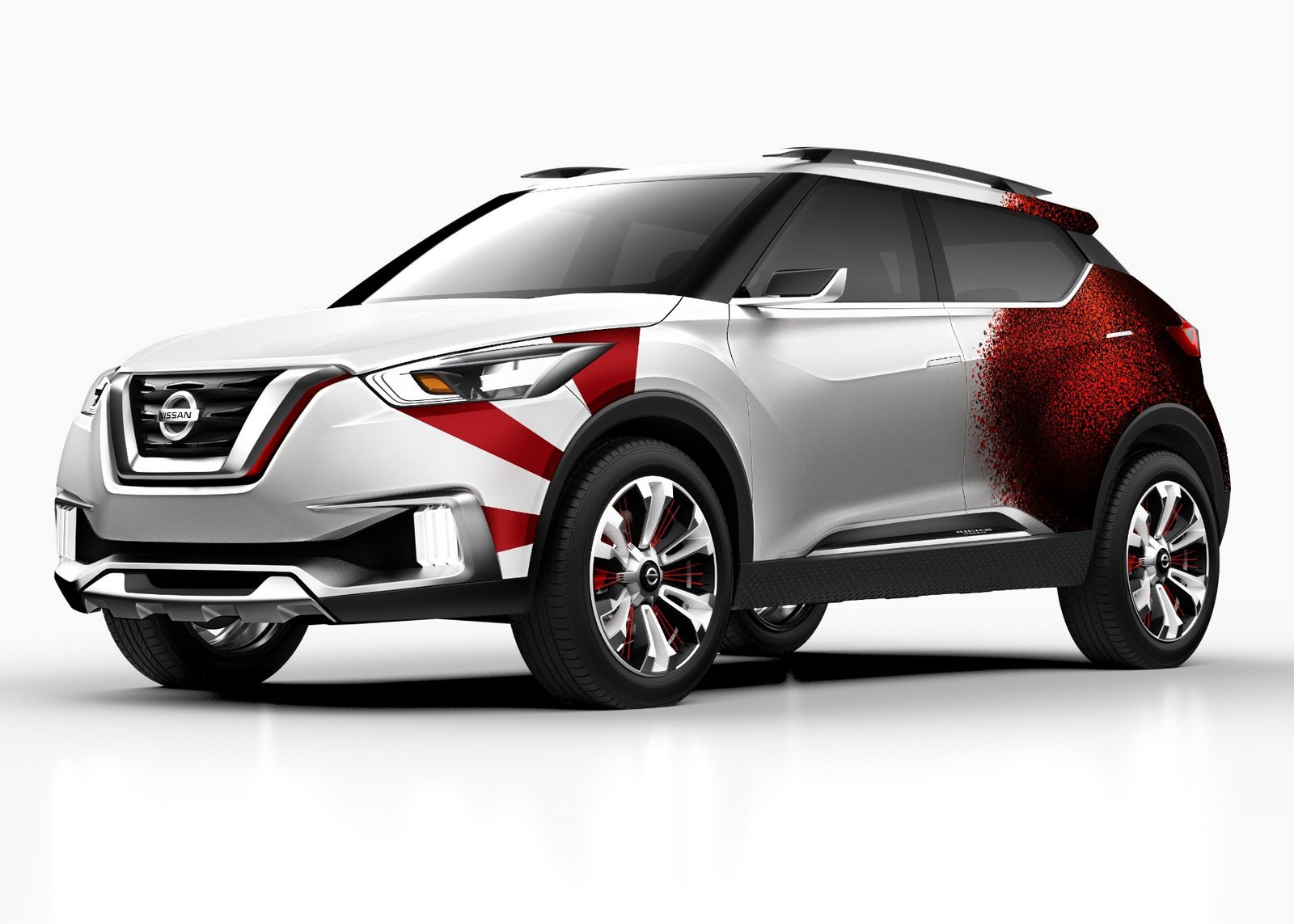 Latest Nissan Kicks Concept Given A Carnival Paint Scheme In Brazil Free Download