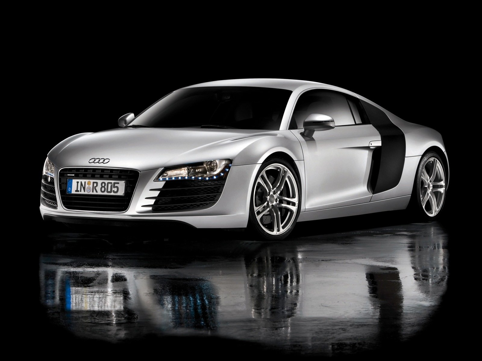 Latest Car Magazine Audi R8 Black And White Free Download