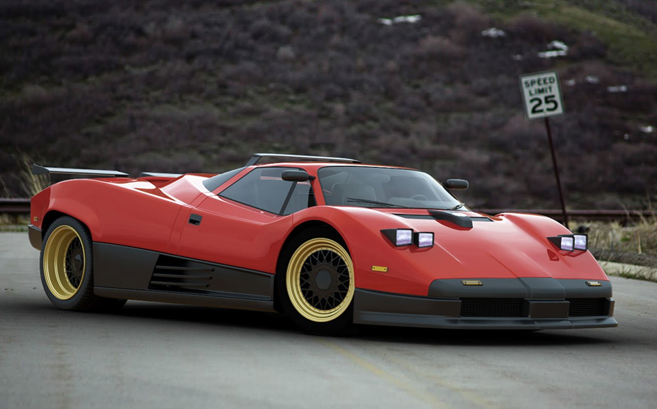 Latest Imagining The Pagani Zonda As A 1980S Supercar Carscoops Com Free Download