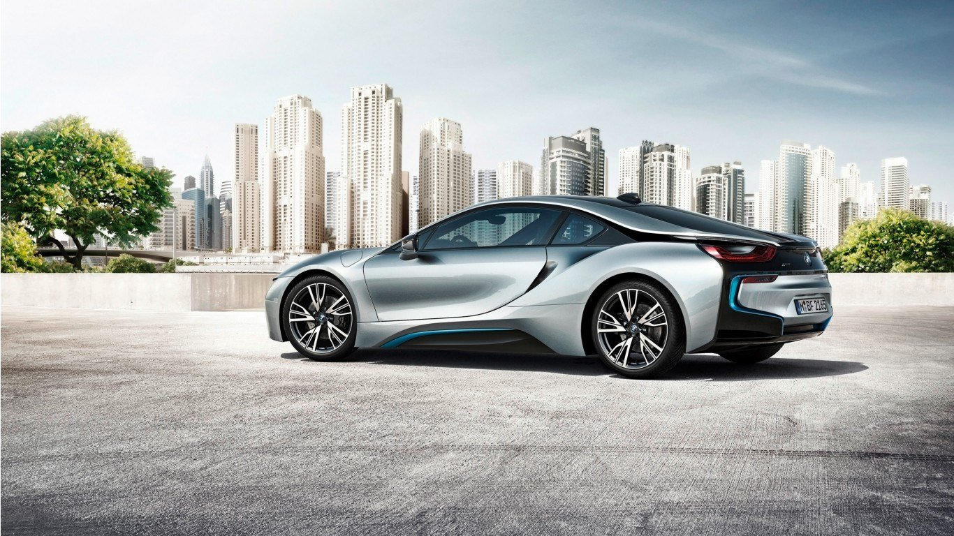 Latest 2015 Bmw I8 4 Wallpaper Hd Car Wallpapers Id 3801 Free Download