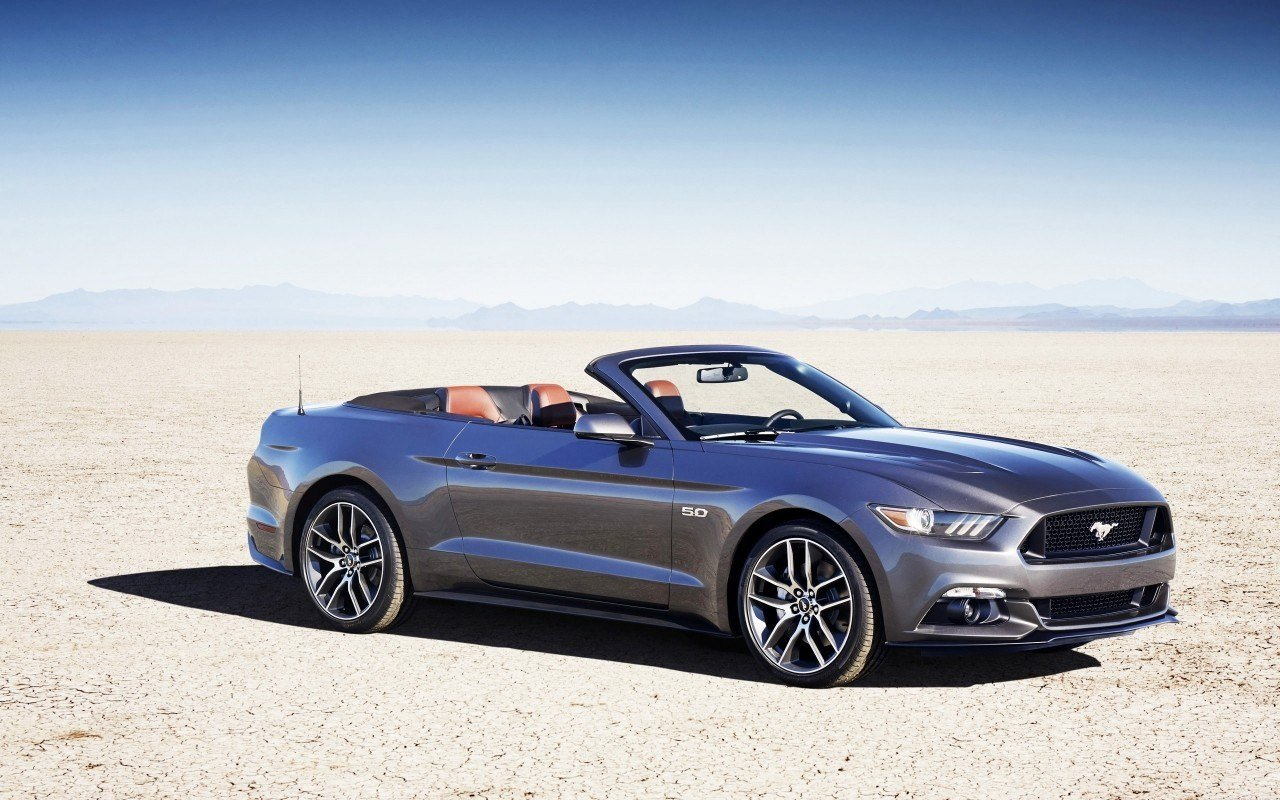 Latest 2015 Ford Mustang Convertible Wallpaper Hd Car Free Download