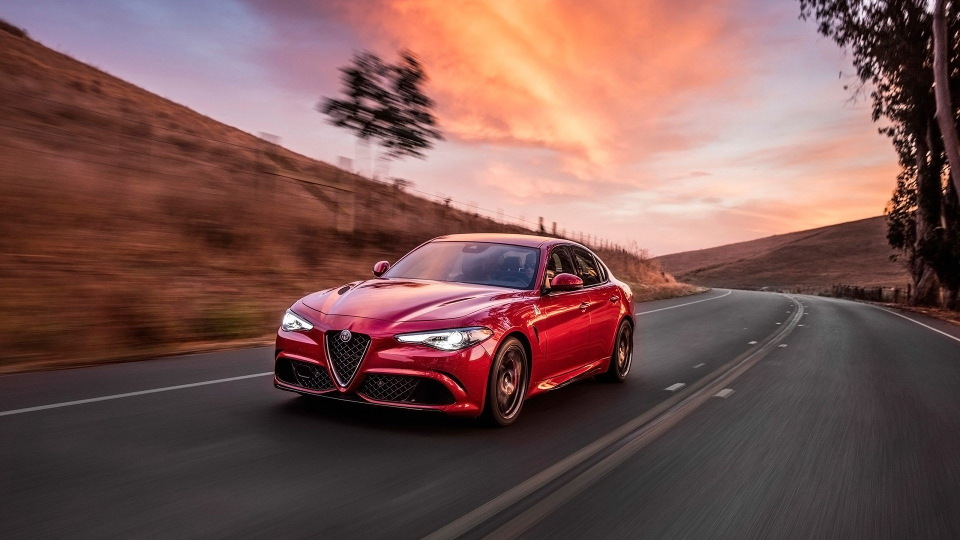 Latest 2017 Alfa Romeo Giulia Quadrifoglio Wallpaper Hd Car Free Download