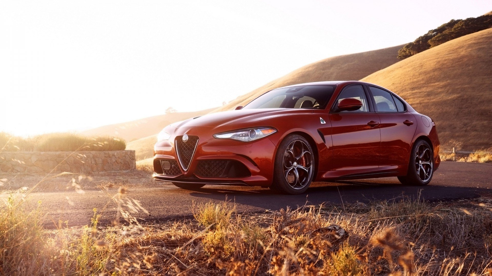 Latest 2017 Alfa Romeo Giulia Quadrifoglio 4 Wallpaper Hd Car Free Download