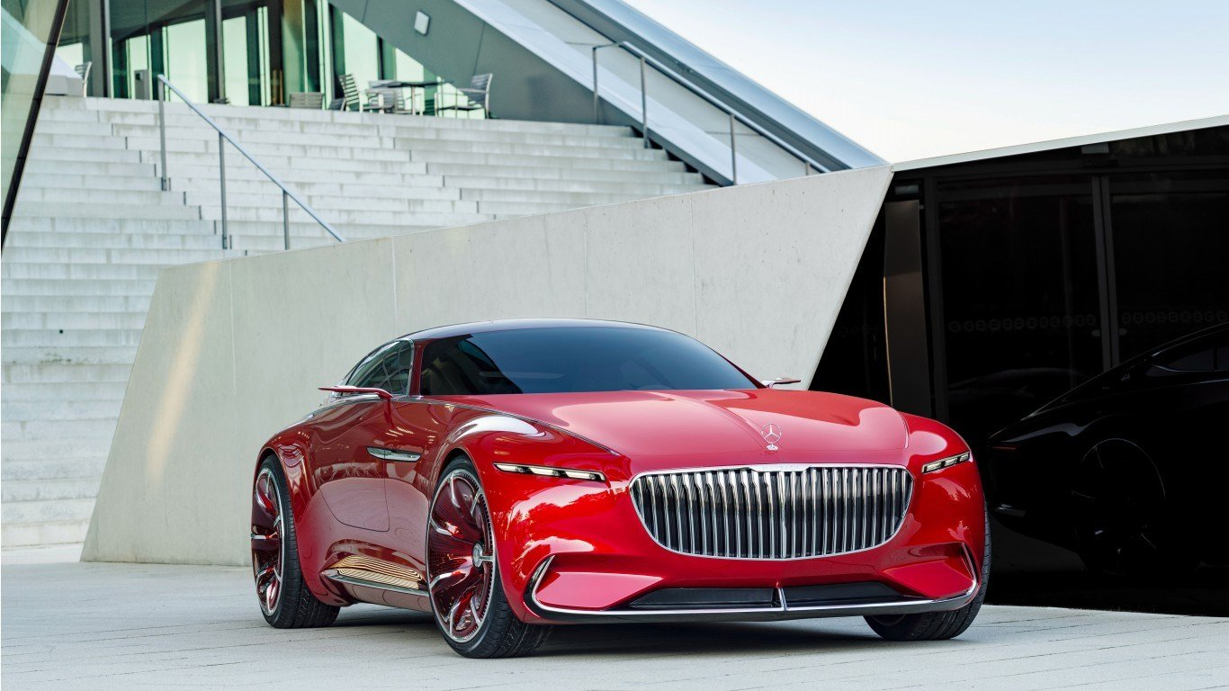 Latest 2017 Vision Mercedes Maybach 6 K Wallpaper Hd Car Free Download