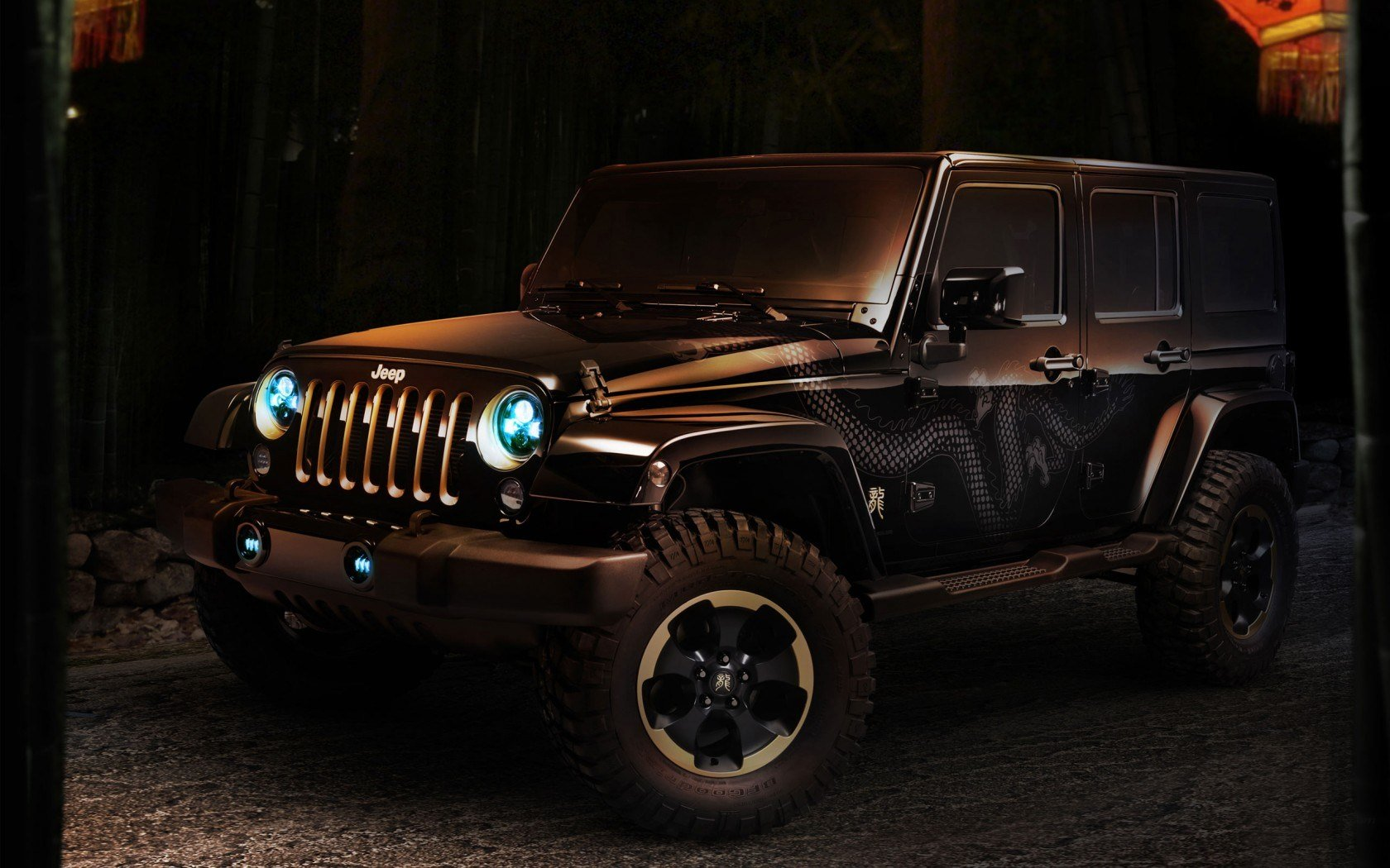 Latest Jeep Wrangler Dragon Concept Wallpaper Hd Car Wallpapers Free Download