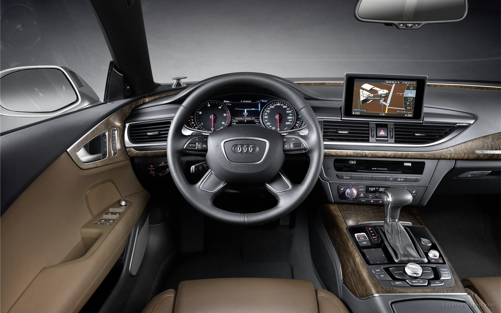 Latest 2011 Audi A7 Interior Wallpaper Hd Car Wallpapers Id 1840 Free Download