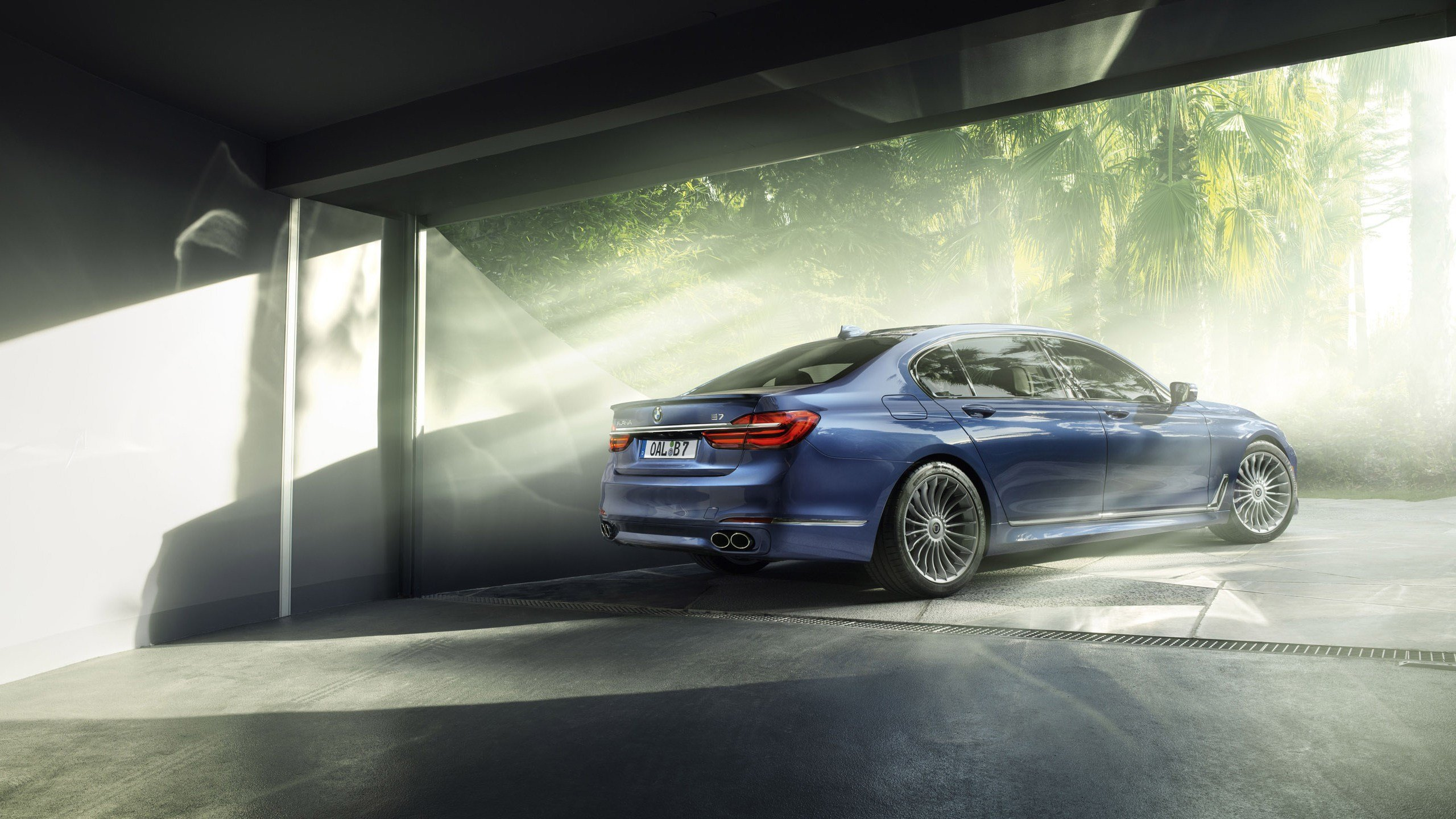 Latest 2016 Bmw Alpina B7 Bi Turbo Rear Wallpaper Hd Car Free Download