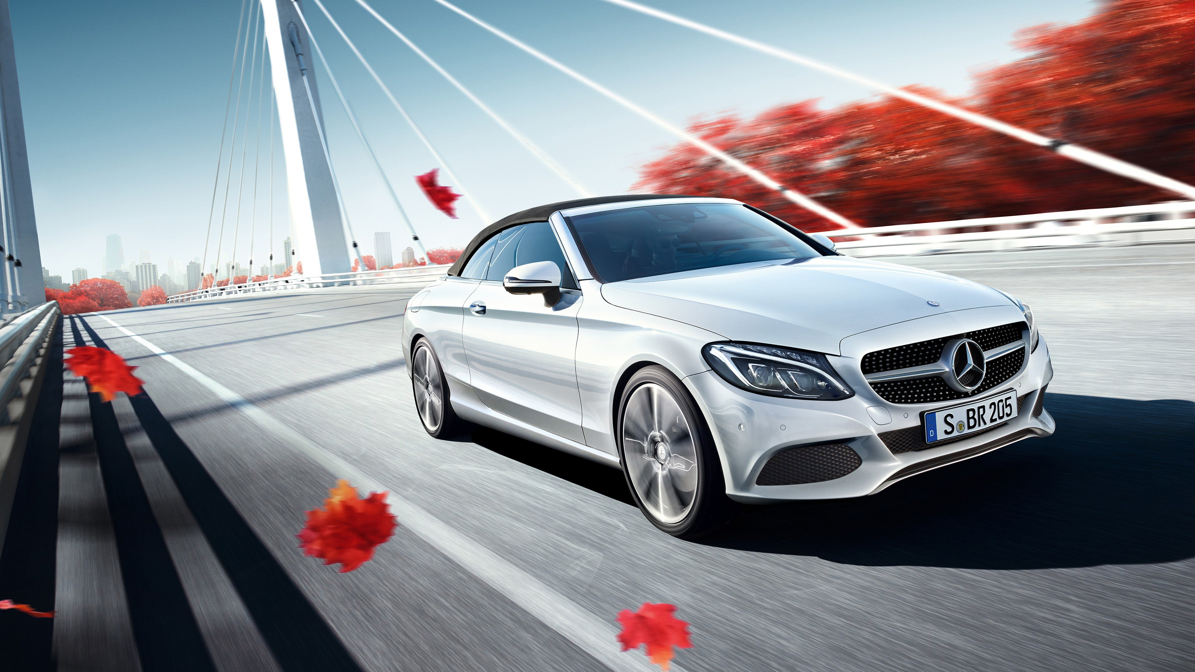 Latest 2017 Mercedes Benz C Class Cabriolet Wallpaper Hd Car Free Download