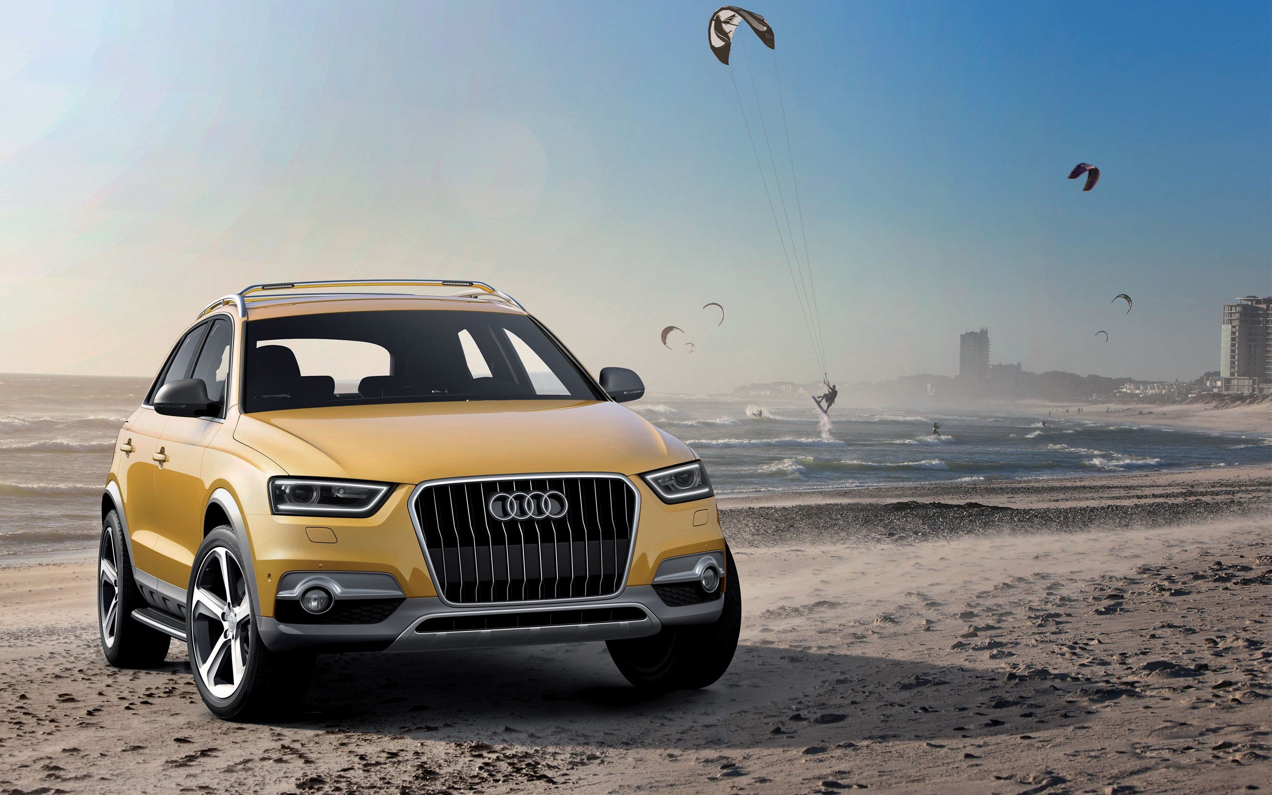 Latest Audi Q3 Jinlong Yuneng Concept Wallpaper Hd Car Free Download