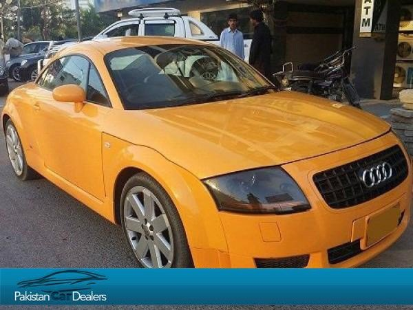 Latest Used Audi Tt Car For Sale From Car Deals Karachi Car Free Download