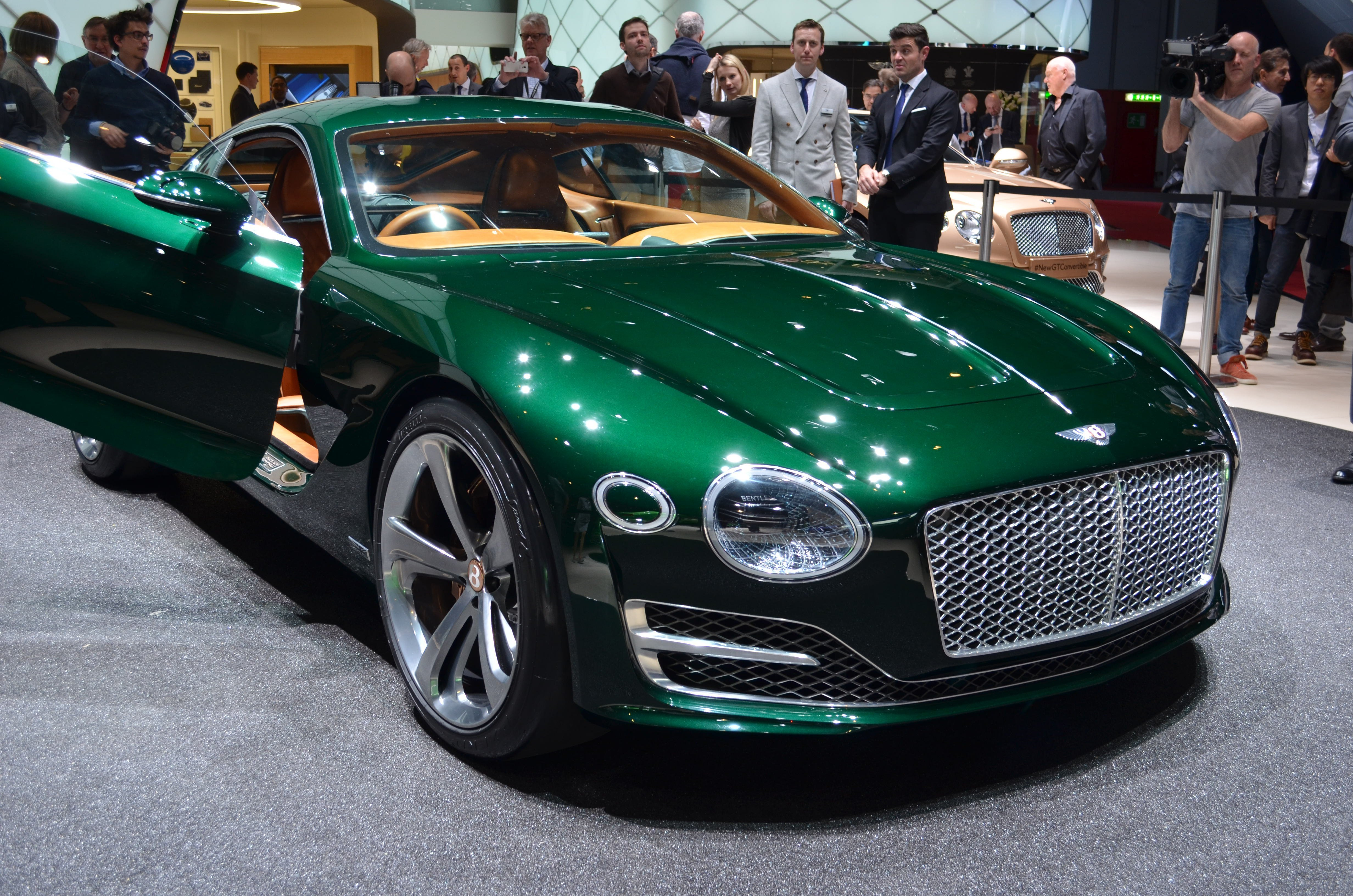 Latest Bentley Previews Future Sports Car With Stunning New Free Download
