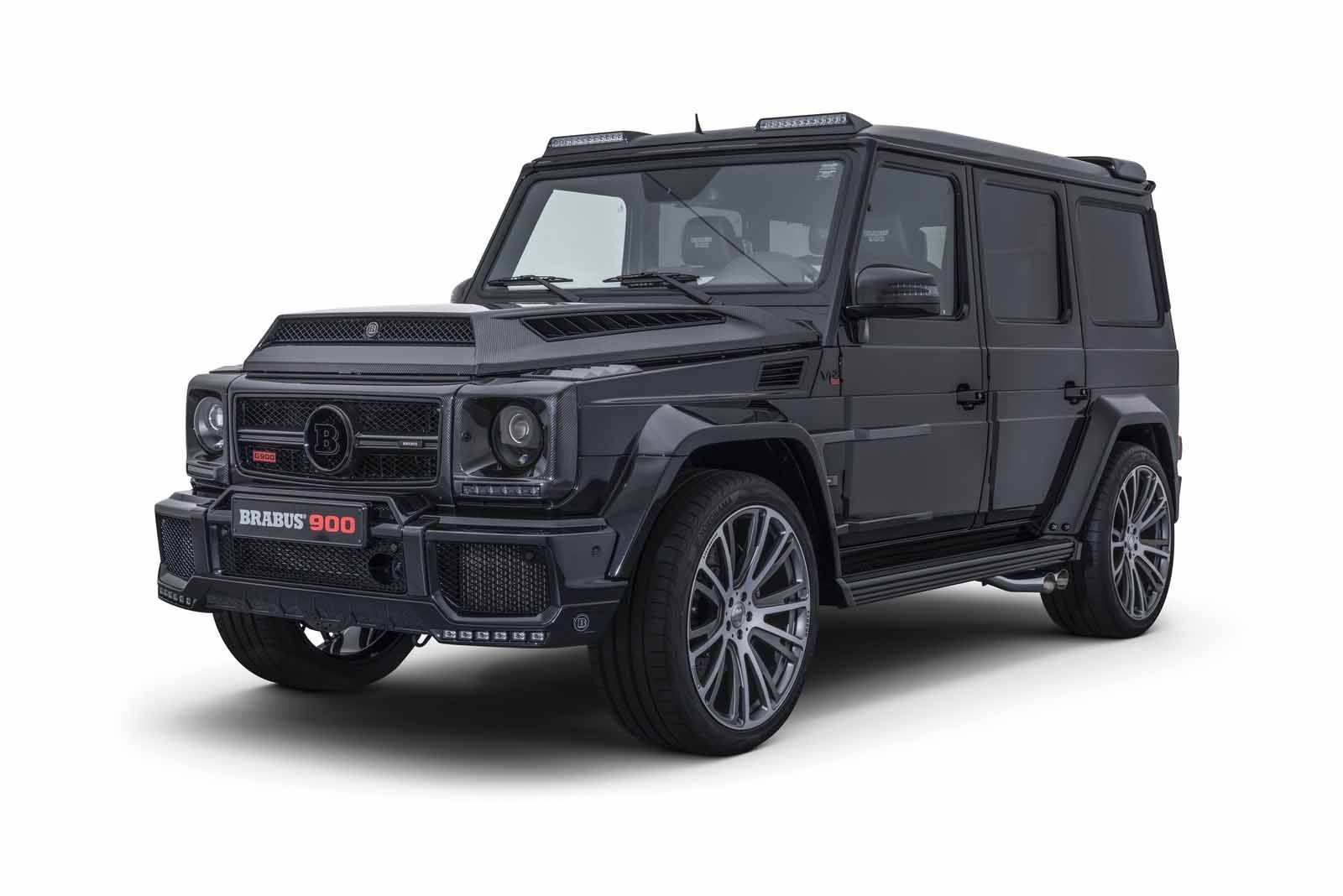 Latest Brabus Has Built A 900 Hp G Wagen For Crazy People Free Download Original 1024 x 768