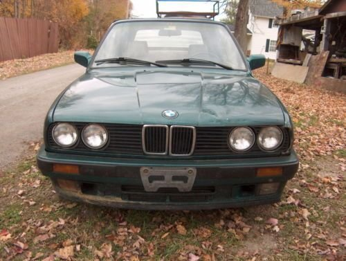 Latest Find Used 1992 Bmw 325I Convertible Damage On Rear Quarter Free Download