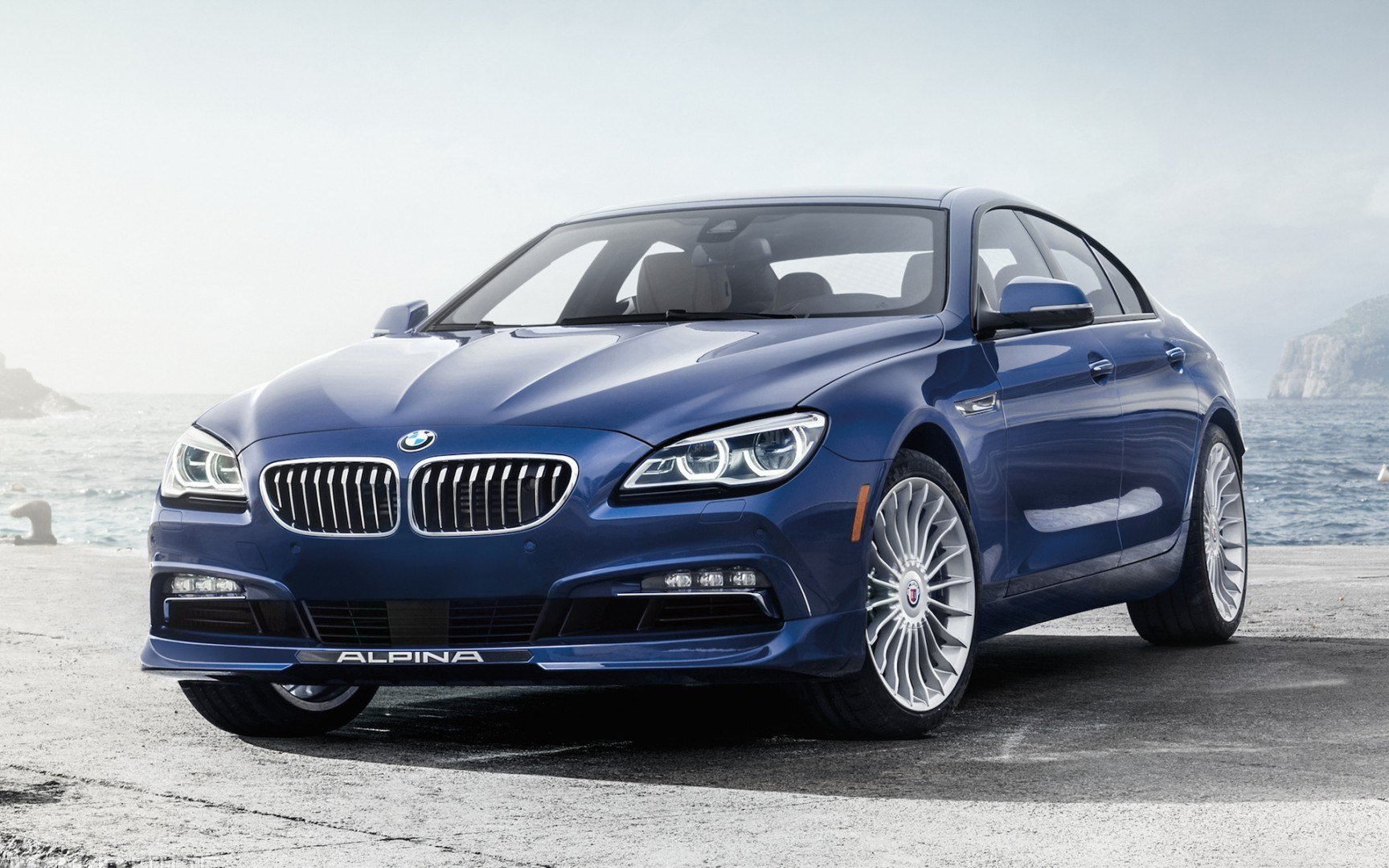 Latest 2016 Alpina Bmw B6 Xdrive Gran Coupe Car Hd Wallpaper Free Download