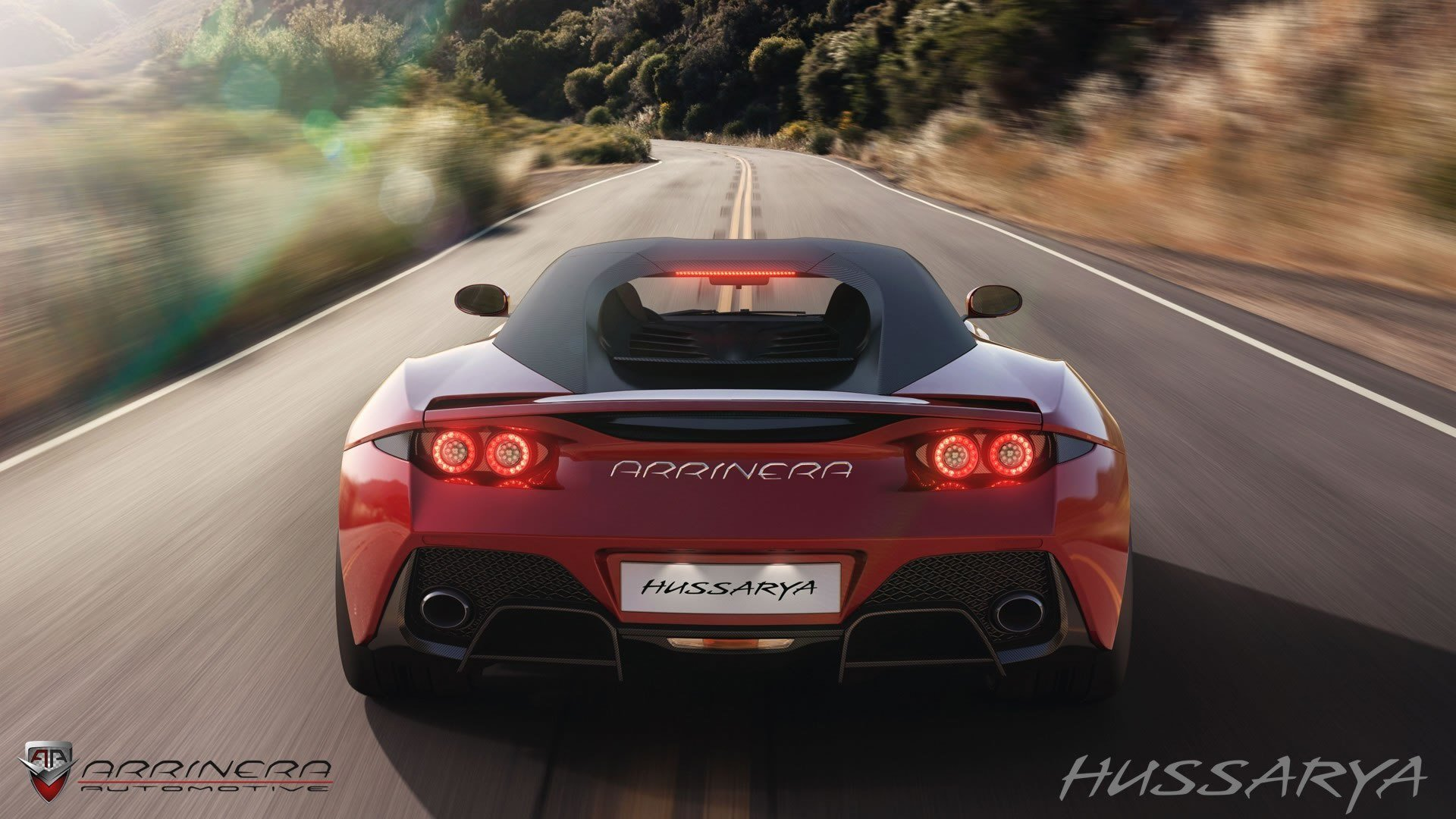 Latest 2015 Arrinera Hussarya Rear Photo Red Color Taillights Free Download
