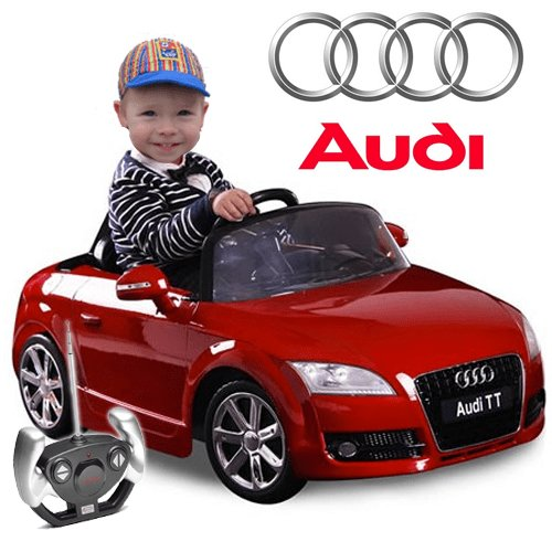 Latest Where To Buy Kids Official Red 6V Audi Tt With Parental Free Download