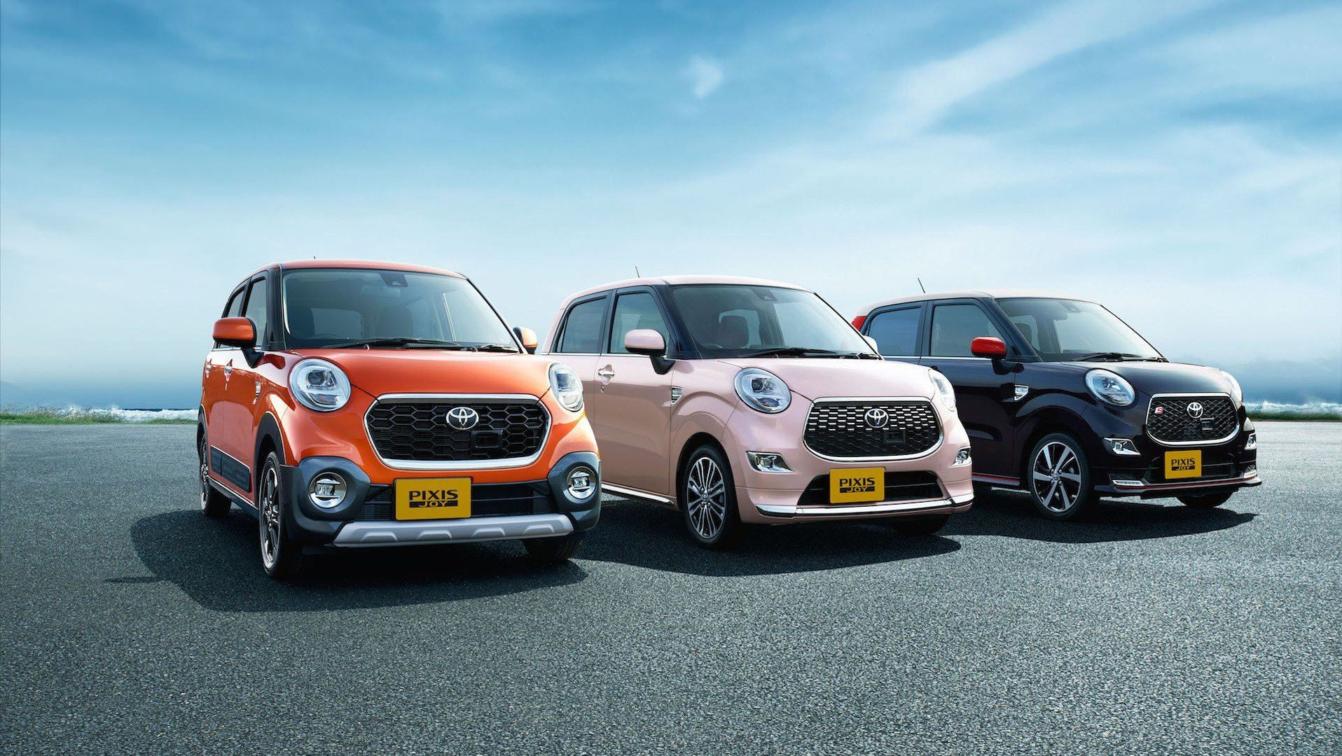 Latest Toyota Launches New Pixis Joy Mini Car In Japan Free Download