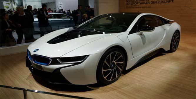 Latest Bmw Launches Its First Hybrid Car I8 At Rs 2 3 Crore In Free Download