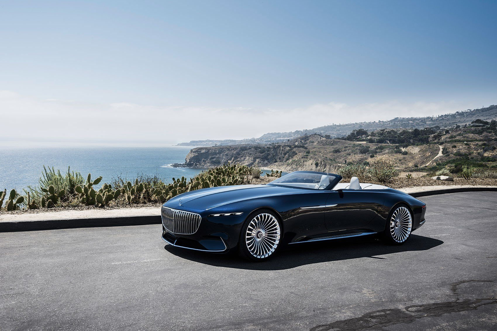 Latest Vision Mercedes Maybach 6 Cabriolet News Photos Specs Free Download