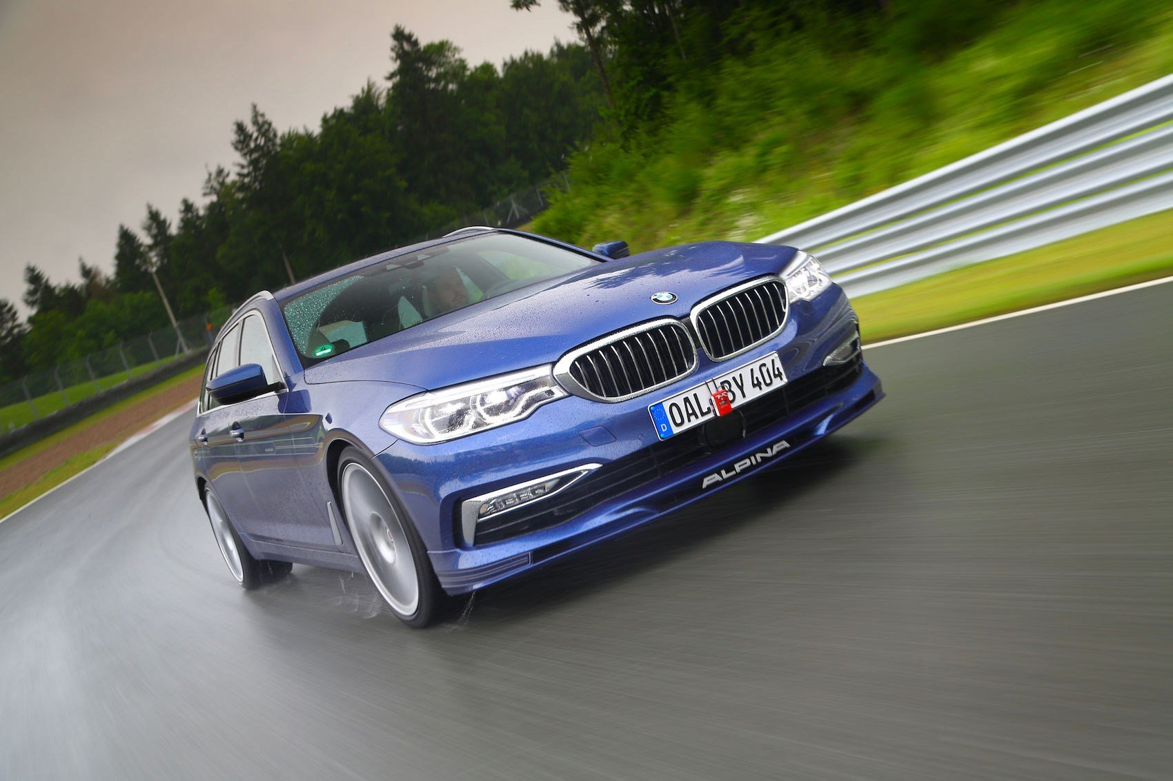 Latest The Alpina B5 Bi Turbo Touring Is The Stretched M5 You've Free Download