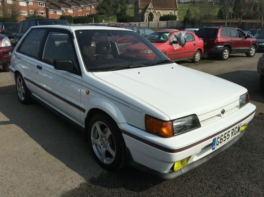 Latest Nissan Sunny 1 8 Gti Twin Cam 16V 1989 G Ebay Free Download