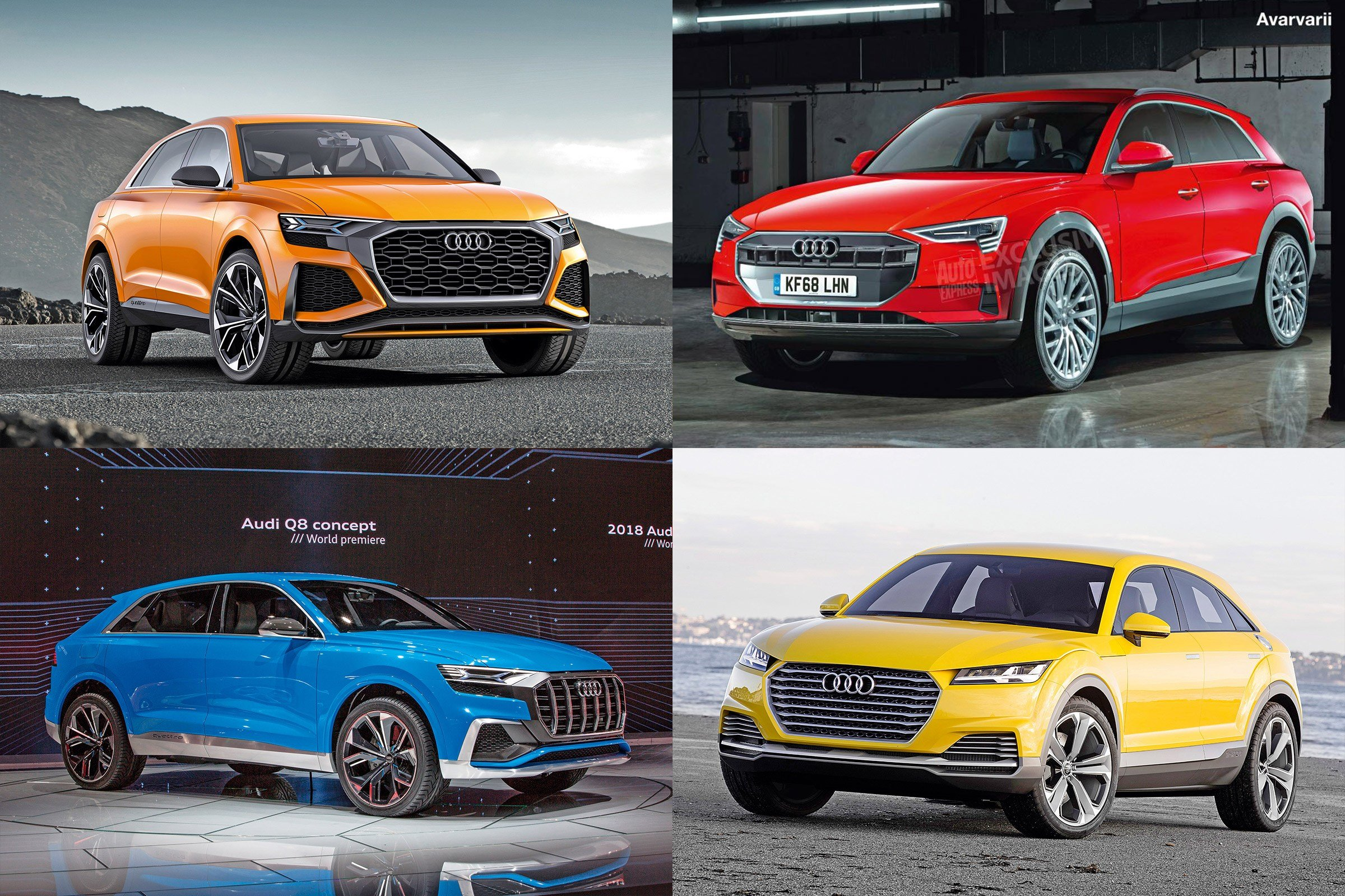 Latest Audi Suvs 8 New Models On The Way Before 2020 Auto Express Free Download