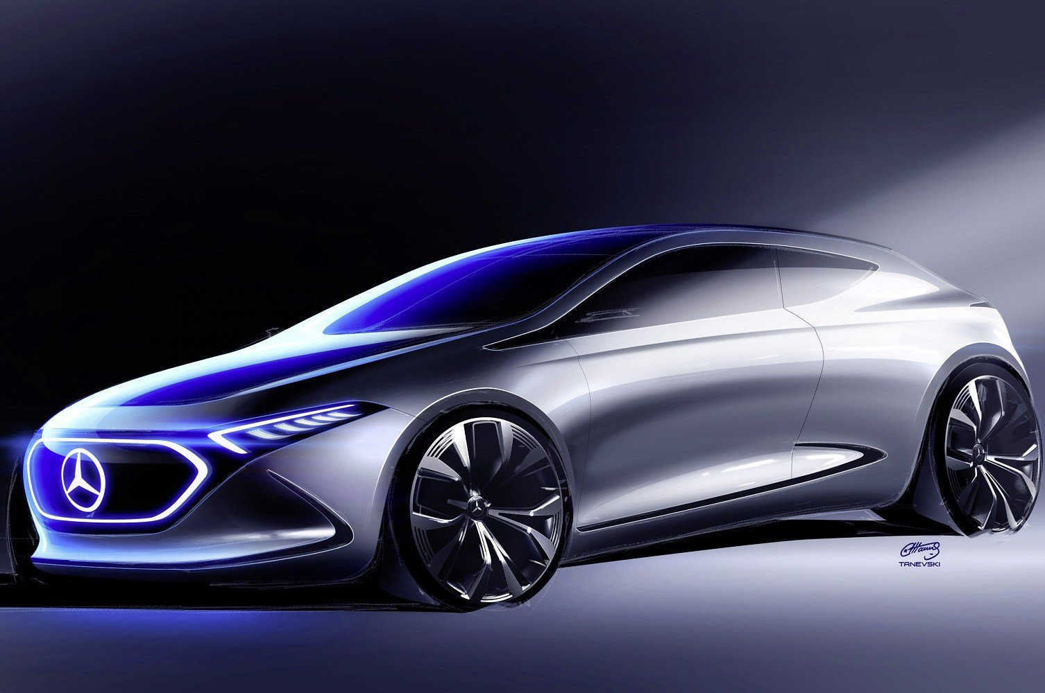 Latest The Mercedes Benz Concept Eqa Will Electrify The Show Free Download