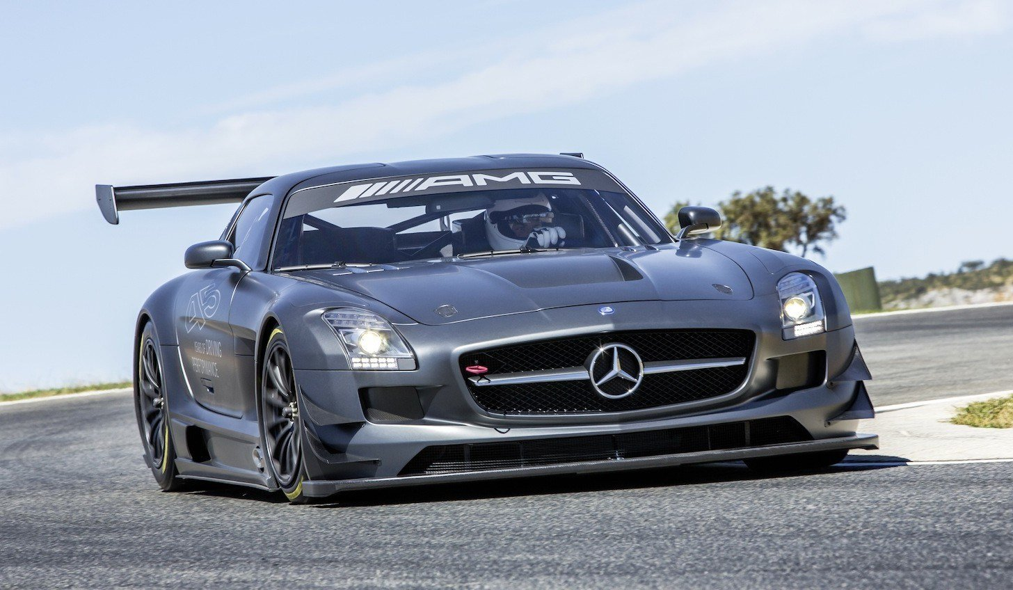 Latest Mercedes Benz Sls Amg Gt3 45Th Anniversary Edition Race Free Download