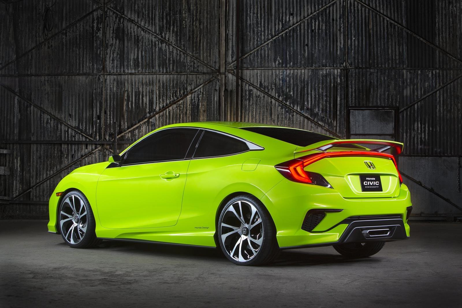 Latest 2015 Honda Civic Concept Is A Stunner Previews New Civic Free Download