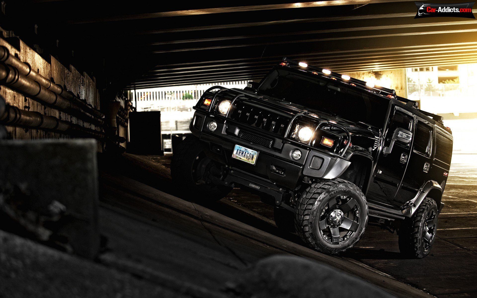 Latest Best Car And Girls Hummer Wallpapers Free Download