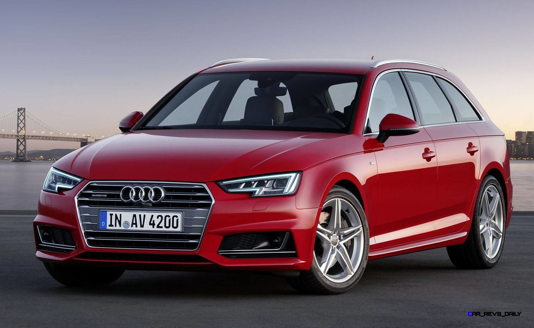 Latest 2016 Audi A4 Free Download