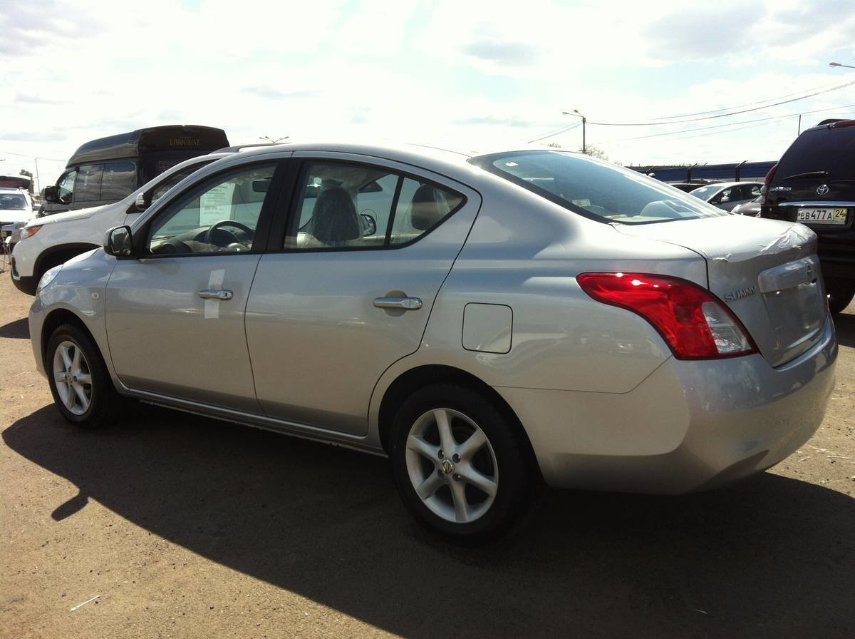 Latest 2012 Nissan Sunny For Sale 1500Cc Gasoline For Sale Free Download